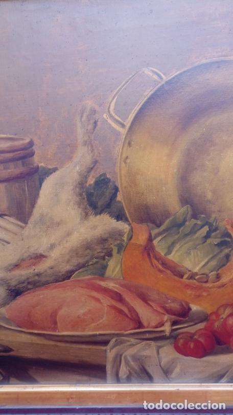 Arte: ÓLEO S/LIENZO CON DOBLE MARCO. AUTOR.- LUIS MURIEL Y LÓPEZ (1859-1919). DIM.- 101X76.5CMS. - Foto 5 - 217649173