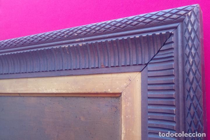 Arte: ÓLEO S/LIENZO CON DOBLE MARCO. AUTOR.- LUIS MURIEL Y LÓPEZ (1859-1919). DIM.- 101X76.5CMS. - Foto 10 - 217649173