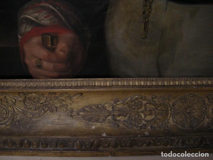 Arte: CARDERERA Y SOLANO, VALENTÍN (1796-1880) RETRATOS DE LOS MARQUESES DE MALPICA (FERNÁNDEZ DE CÓRDOBA) - Foto 12 - 212918238