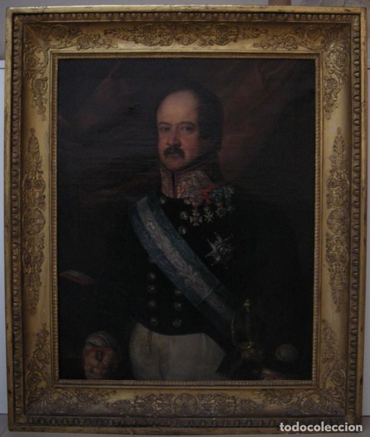 Arte: CARDERERA Y SOLANO, VALENTÍN (1796-1880) RETRATOS DE LOS MARQUESES DE MALPICA (FERNÁNDEZ DE CÓRDOBA) - Foto 13 - 212918238