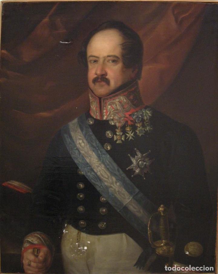 Arte: CARDERERA Y SOLANO, VALENTÍN (1796-1880) RETRATOS DE LOS MARQUESES DE MALPICA (FERNÁNDEZ DE CÓRDOBA) - Foto 23 - 212918238