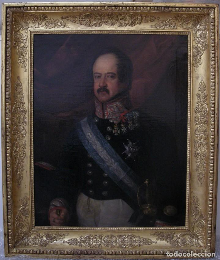 Arte: CARDERERA Y SOLANO, VALENTÍN (1796-1880) RETRATOS DE LOS MARQUESES DE MALPICA (FERNÁNDEZ DE CÓRDOBA) - Foto 25 - 212918238