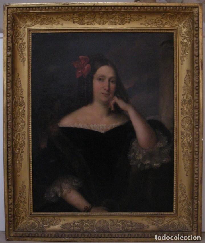 Arte: CARDERERA Y SOLANO, VALENTÍN (1796-1880) RETRATOS DE LOS MARQUESES DE MALPICA (FERNÁNDEZ DE CÓRDOBA) - Foto 29 - 212918238