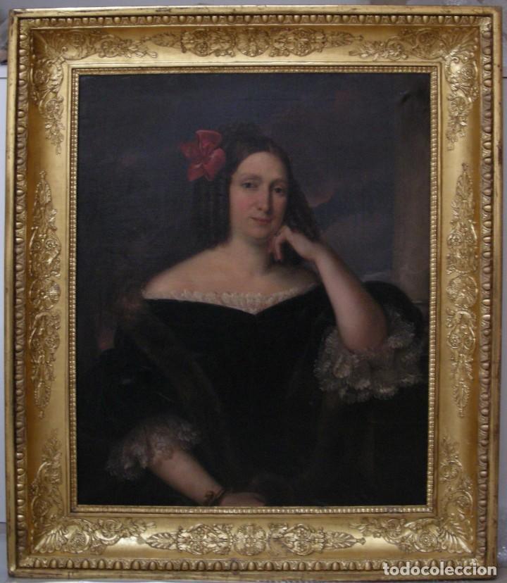 Arte: CARDERERA Y SOLANO, VALENTÍN (1796-1880) RETRATOS DE LOS MARQUESES DE MALPICA (FERNÁNDEZ DE CÓRDOBA) - Foto 39 - 212918238