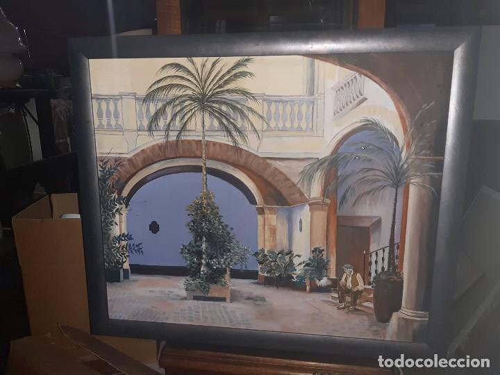 OLEO BALCON (Arte - Pintura Directa del Autor)