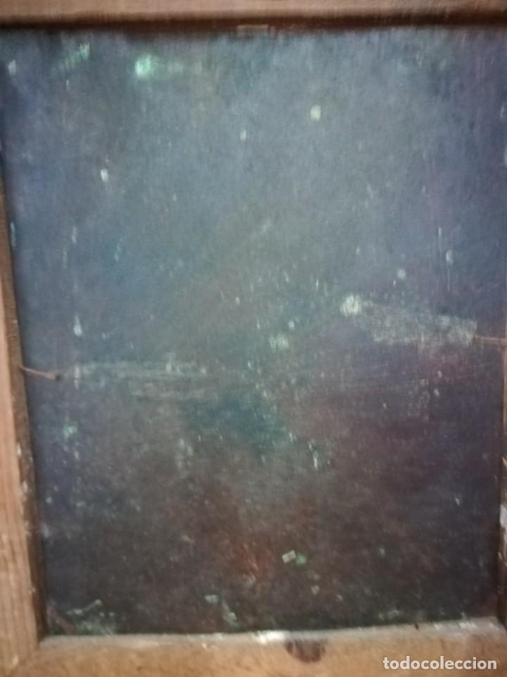 Arte: Magnifica cabeza de cristo pintado en cobre - Foto 6 - 217942812