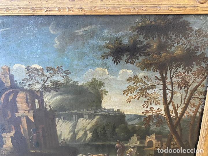 Arte: Paisaje escuela Mallorquina siglo XVII - Foto 4 - 218053840