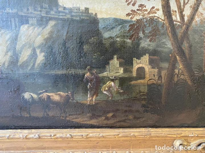 Arte: Paisaje escuela Mallorquina siglo XVII - Foto 5 - 218053840