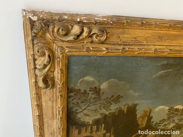 Arte: Paisaje escuela Mallorquina siglo XVII - Foto 8 - 218053840