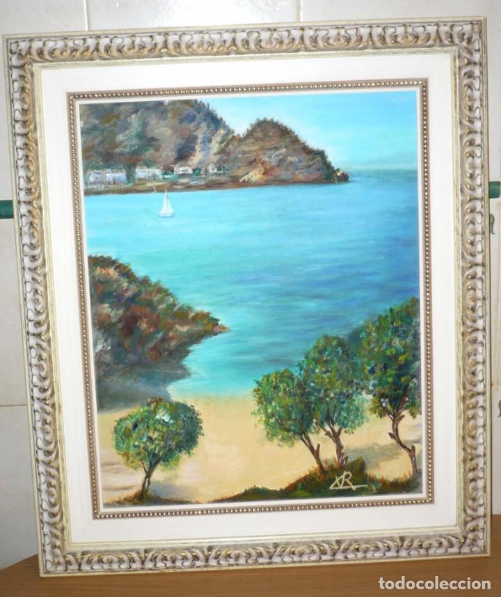 Arte: Oleo sobre Lienzo. Marina. Firmada Rx - Foto 2 - 218343158