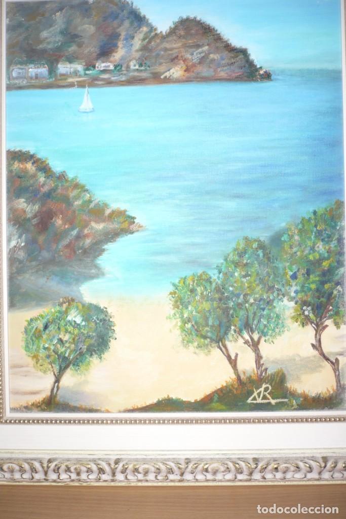 Arte: Oleo sobre Lienzo. Marina. Firmada Rx - Foto 5 - 218343158