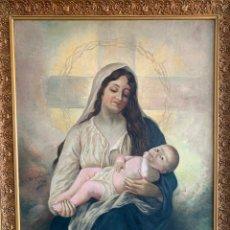 Arte: JOSÉ SANZ Y ARIZMENDI ( 1885 - 1929 ) SEVILLA NATIVIDAD FIRMADA. Lote 218365446