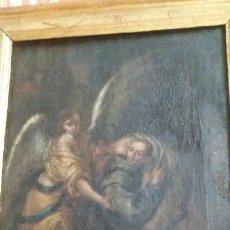 Arte: VALDÉS, LUCAS DE (SEVILLA 1661-CÁDIZ 1725): SAN JUAN DE DIOS AYUDANDO A UN ENFERMO. Lote 218381667