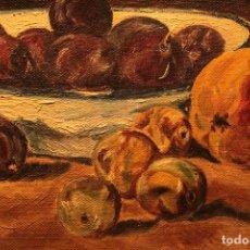 Arte: BODEGÓN ANÓNIMO PINTADO AL ÓLEO SOBRE LIENZO, BUENA CALIDAD. 28X38CM.. Lote 218412583