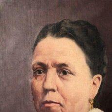 Arte: HONORIO ROMERO OROZCO (1867-1920) OLEO SOBRE LIENZO, RETRATO SEÑORA 56X71CM. Lote 192066542