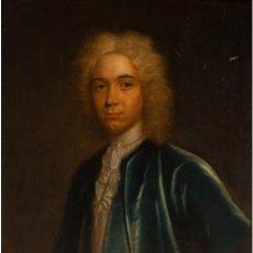 """Arte: THOMAS MURRAY (ESCOCIA, 1663-LONDRES, 1735). """"RETRATO DE UN CABALLERO"""". ÓLEO SOBRE LIENZO.. Lote 218470403"""