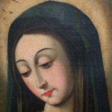 Arte: VIRGEN OLEO SOBRE LIENZO S.XVIII. Lote 218522226