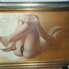 Arte: CUADRO CELEDONIO PERELLON ÓLEO SOBRE LIENZO.. Lote 218545540