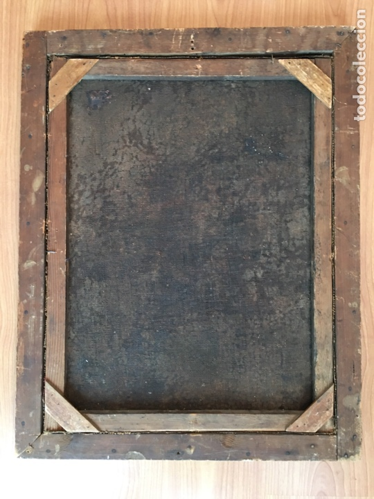 Arte: ANTIGUO ÓLEO SOBRE LIENZO - FLORERO - BODEGÓN DE FLORES - SIGLO XVIII - Foto 4 - 218585425