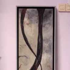 Arte: Mª JOSE MUÑOZ, ABSTRACCIÓN, ENMARCADO 35X85CM. Lote 218613980