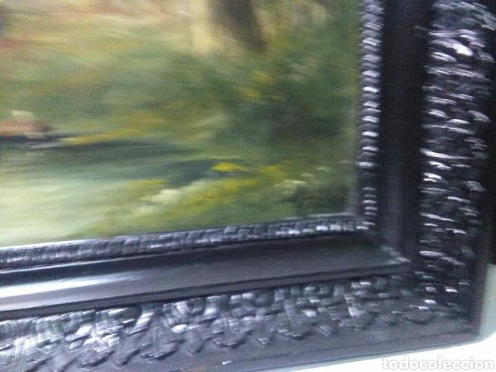Arte: Pintura antigua oleo sobre tabla pisajes finales siglo XIX - Foto 8 - 218694103