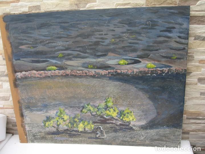 OLEO SOBRE TABLERO DE TIERRAS VOLCANICAS (Arte - Pintura - Pintura al Óleo Moderna sin fecha definida)