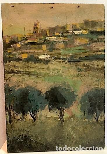 RAMÓN CASTAÑER SEGURA, ÓLEO SOBRE TABLA. (Arte - Pintura - Pintura al Óleo Contemporánea )