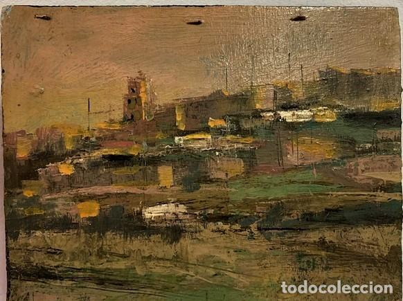 Arte: RAMÓN CASTAÑER SEGURA, ÓLEO SOBRE TABLA. - Foto 6 - 218744435