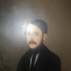 Arte: OLEO RETRATO DE UN PERSONAJE ALEMÁN DEL SIGLO XIX... RELACIONADO QUE ERA UN ESCRITOR... Lote 218745807