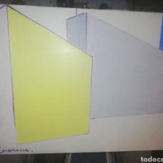 Arte: OLEO DE LA PINTORA ITALIANA DE GÉNOVA MARISCA CALZA... VIVIENDO AÑOS EN CANARIA.. LIQUIDACIONNMMM. Lote 218746157