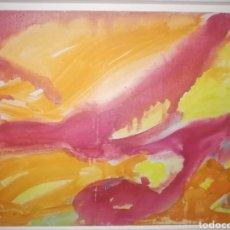 Arte: OLEO DE DE MARISCA CALZA.. PINTORA ITALIANA DE GÉNOVA..PASO TIEMPO EN CANARIA..LIQUIDACIONNN!!!!. Lote 218746563