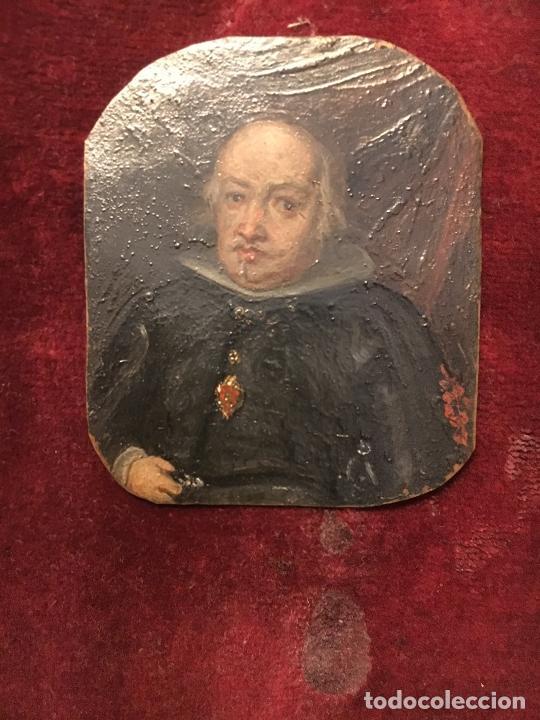 ÓLEO SOBRE COBRE SIGLO XVII (Arte - Pintura - Pintura al Óleo Antigua siglo XVII)