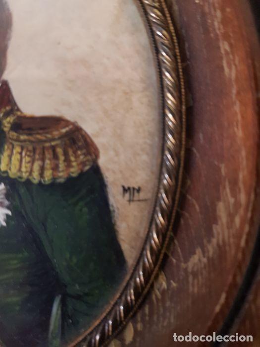 Arte: Pinturas-en-miniatura-de-Napoleón-y-Josephine-Madera-marfil-siglo XIX - Foto 6 - 218824322