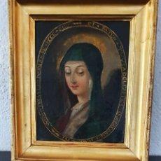 Arte: VIRGEN DOLOROSA - SIGLO XVIII - COBRE - ESCUELA ITALIANA. Lote 218845436