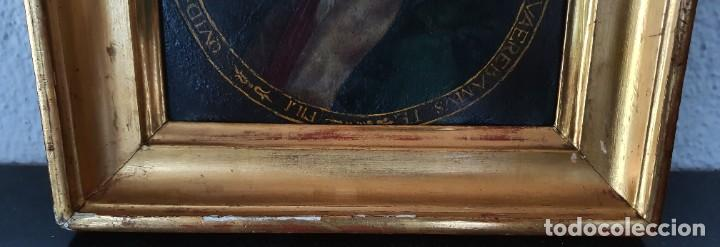 Arte: VIRGEN DOLOROSA - SIGLO XVIII - COBRE - ESCUELA ITALIANA - Foto 6 - 218845436