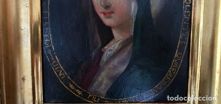 Arte: VIRGEN DOLOROSA - SIGLO XVIII - COBRE - ESCUELA ITALIANA - Foto 9 - 218845436