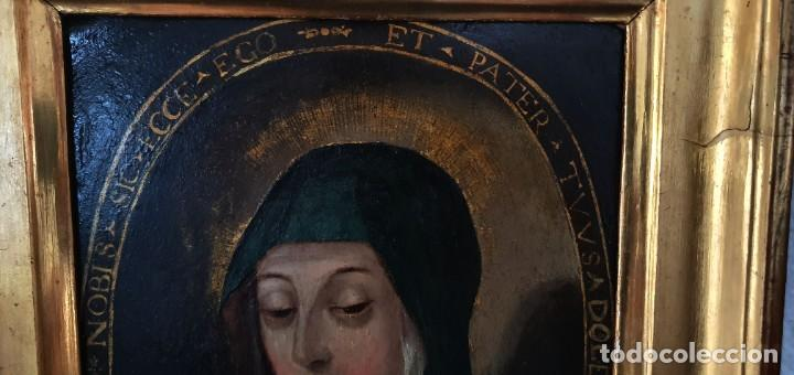 Arte: VIRGEN DOLOROSA - SIGLO XVIII - COBRE - ESCUELA ITALIANA - Foto 7 - 218845436