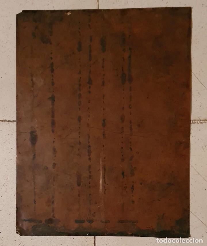 Arte: VIRGEN DOLOROSA - SIGLO XVIII - COBRE - ESCUELA ITALIANA - Foto 3 - 218845436