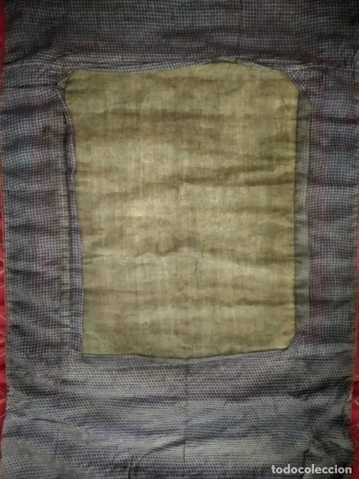 Arte: Óleo sobre lienzo, cuadro antiguo de Tíbet del siglo 18-19 - Foto 7 - 218887048