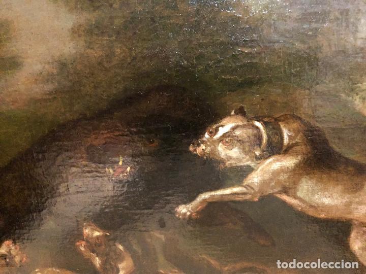 Arte: Círculo de Paul de Vos, caza del jabalí, siglo XVII - Foto 10 - 218901840