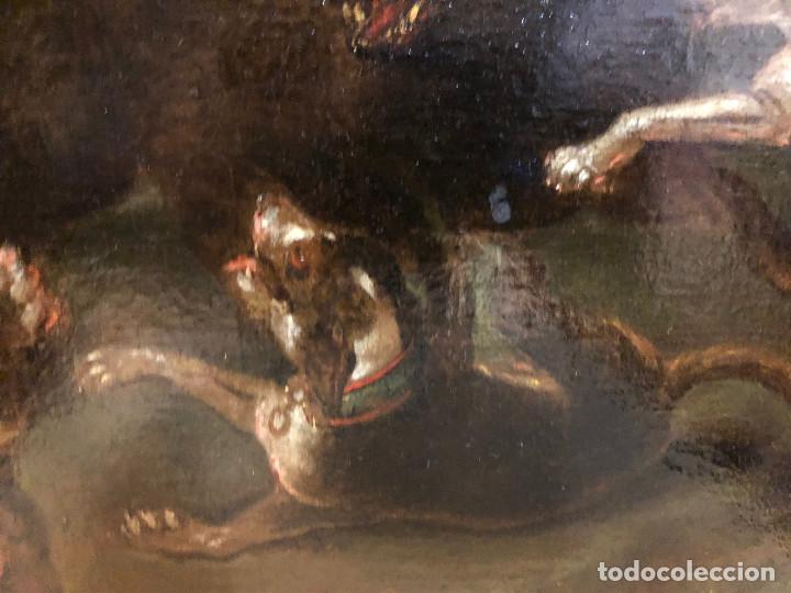 Arte: Círculo de Paul de Vos, caza del jabalí, siglo XVII - Foto 11 - 218901840