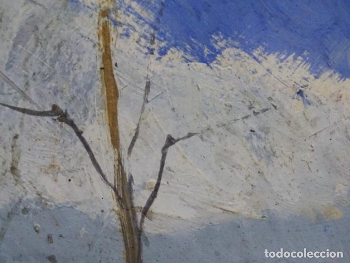Arte: ÓLEO CON FIRMA ILEGIBLE DE BUEN TRAZO.GRAN COLORIDO. - Foto 10 - 218931693