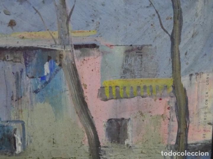 Arte: ÓLEO CON FIRMA ILEGIBLE DE BUEN TRAZO.GRAN COLORIDO. - Foto 11 - 218931693