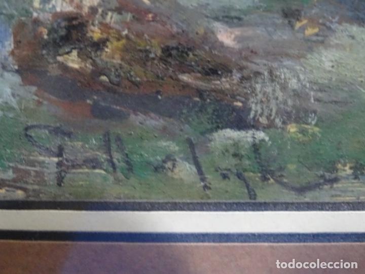 Arte: ÓLEO CON FIRMA ILEGIBLE DE BUEN TRAZO.GRAN COLORIDO. - Foto 13 - 218931693