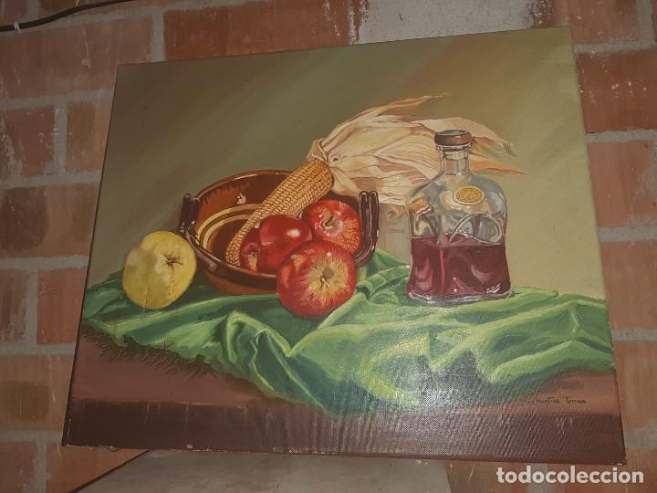 OLEO BODEGONM FIRMADO (Arte - Pintura Directa del Autor)