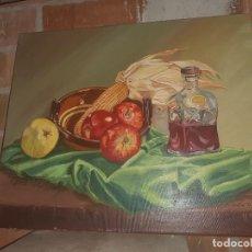 Arte: OLEO BODEGONM FIRMADO. Lote 219029980