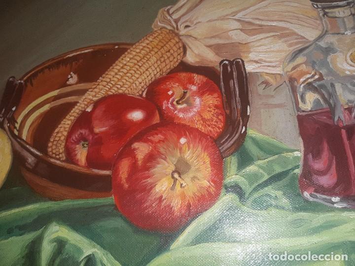 Arte: oleo bodegonm firmado - Foto 2 - 219029980