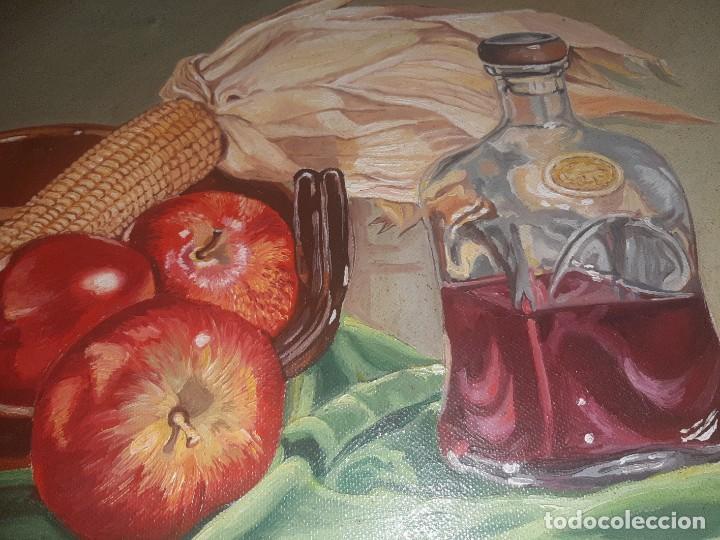 Arte: oleo bodegonm firmado - Foto 3 - 219029980