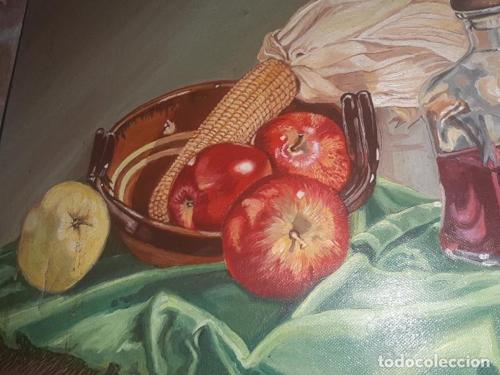 Arte: oleo bodegonm firmado - Foto 4 - 219029980
