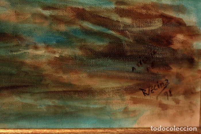 Arte: Joaquin Sorolla (1863-1923) después de - El bote blanco. Firmado. Enmarcado 84×71cm - Foto 4 - 219065043